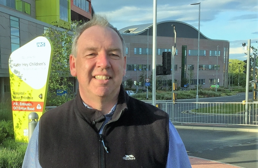 Paul Richardson - Alder Hey Hospital